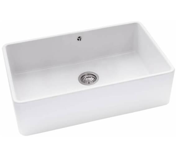Abode Provincial Ceramic Large 1.0 Kitchen Sink Bowl