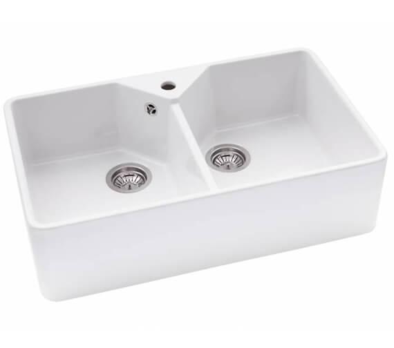 Abode Provincial Ceramic Large 2.0 Kitchen Sink Bowl