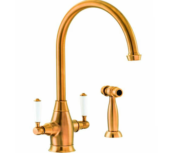 Additional image of Abode Astbury Monobloc Kitchen Mixer Tap with Integrated Handspray