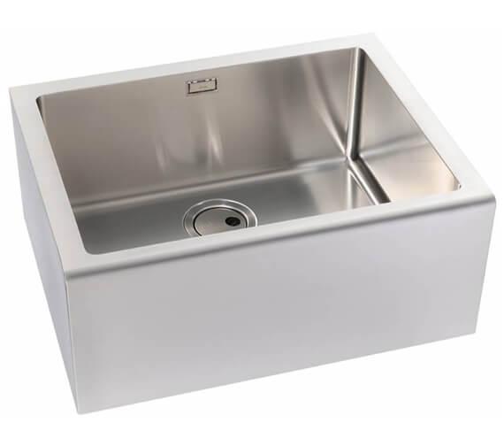Abode Belfast Stainless Steel 1.0 Kitchen Sink Bowl