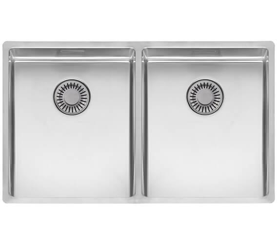 Reginox New York Double Bowl Integrated Kitchen Sink