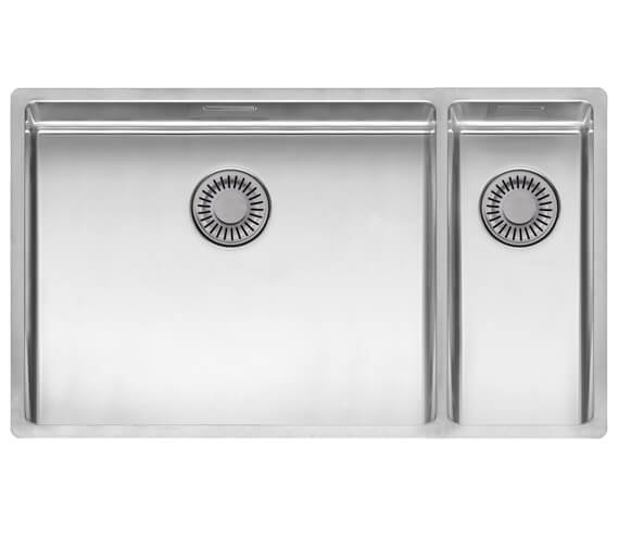 Alternate image of Reginox New York Stainless Steel 1.5 Bowl Integrated Kitchen Sink