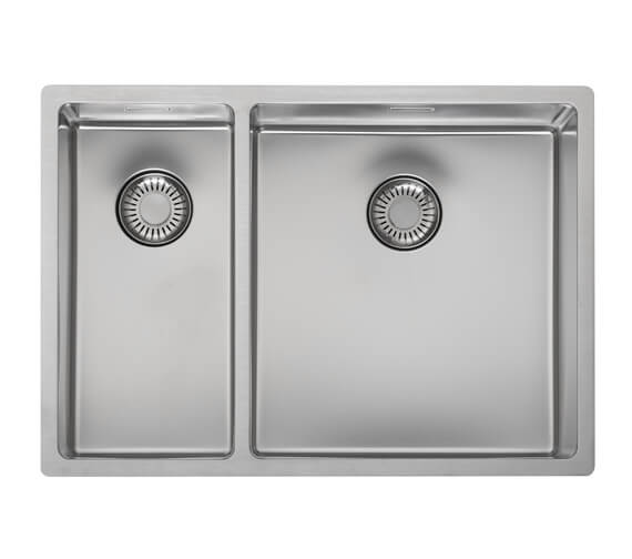 Reginox New Jersey 580 x 410mm Stainless Steel 1.5 Bowl Integrated Kitchen Sink