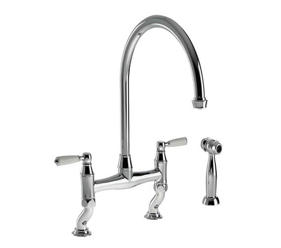 Abode Astbury Bridge Kitchen Tap with Independent Handspray