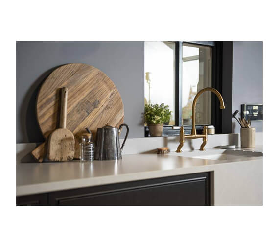 Alternate image of Abode Astbury Bridge Kitchen Tap with Independent Handspray