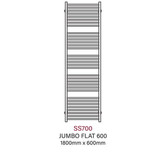 Technical drawing QS-V43801 / SS700