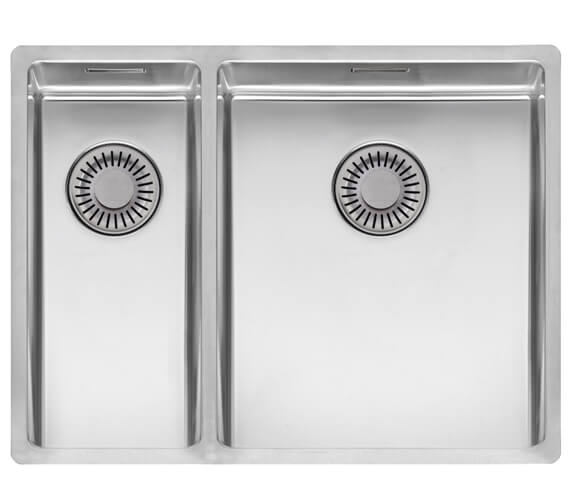 Reginox New York Stainless Steel 1.5 Bowl Integrated Kitchen Sink