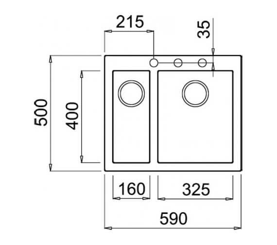 Technical drawing QS-V103457 / QUADRA 150 B T-WING