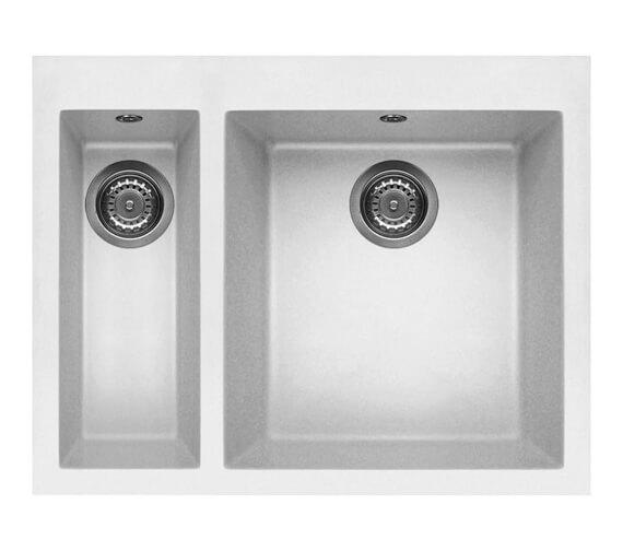 Additional image of Reginox Quadra 150 Inset 1.5 Bowl Granite Kitchen Sink With Tap Wing
