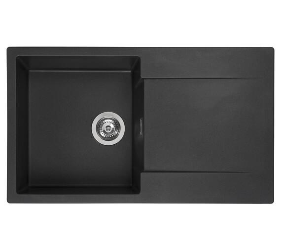 Reginox Amsterdam 10 Single Bowl Inset Granite Sink 860 x 500mm