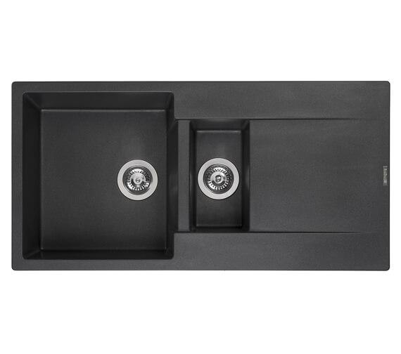 Reginox Amsterdam 15 Inset 1.5 Bowl Granite Kitchen Sink 1000 x 500mm