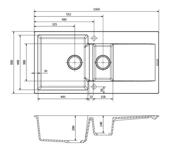 Technical drawing QS-V103456 / AMSTERDAM 15 BS