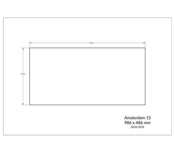 Additional image of Reginox Sinks  AMSTERDAM 15 BS