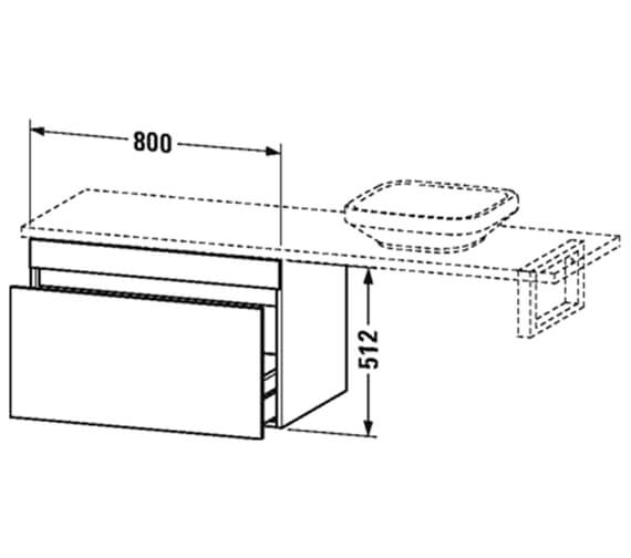 Technical drawing QS-V93921 / DS533002121