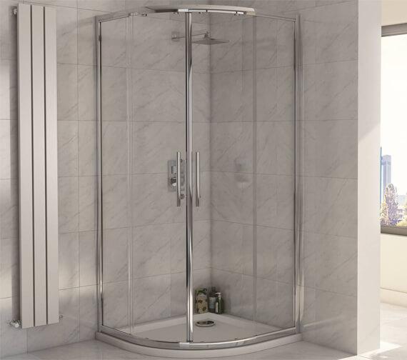 Harrison Bathrooms A8 1900mm Height Double Door Quadrant