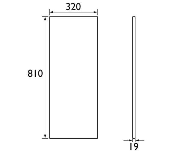 Technical drawing QS-V42576 / FFDGRBGAB