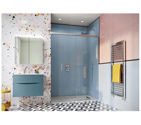 Simpsons Design 1100mm Soft Close Slider Door