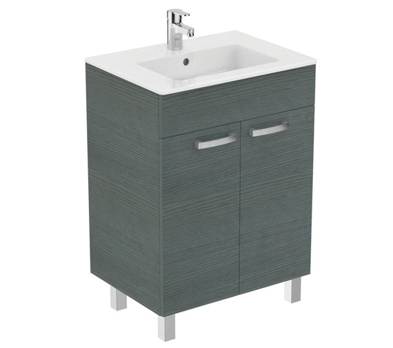 Additional image of Ideal Standard Tempo Floorstanding 2 Door Vanity Unit With Legs
