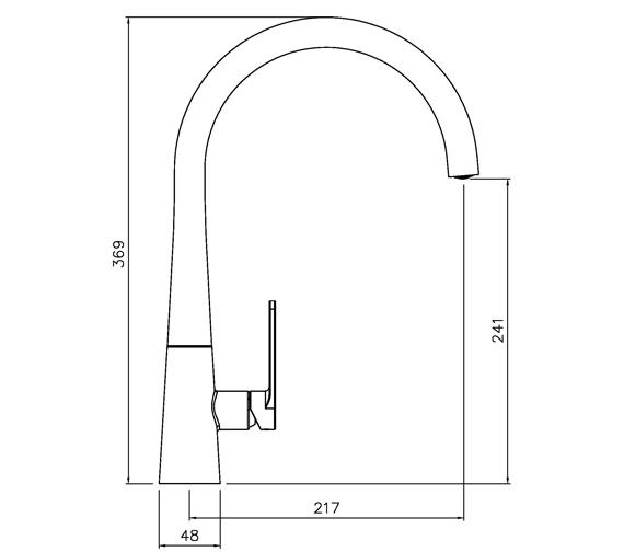 Technical drawing QS-V104011 / AT2115