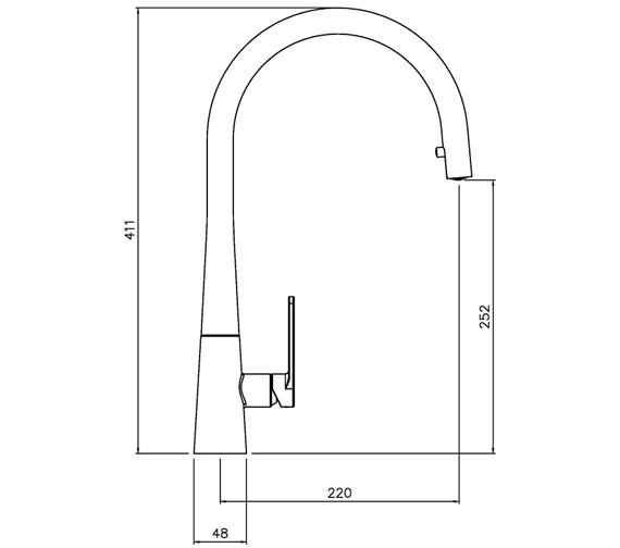Technical drawing QS-V104010 / AT2119