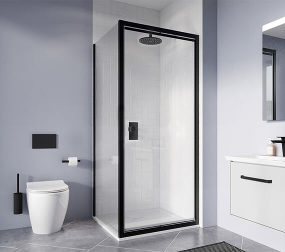 Crosswater Clear 6 800mm x 1950mm Infold Door And Side Panel