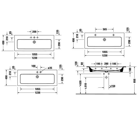 Technical drawing QS-V100399 / 2361120000