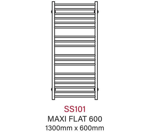 Technical drawing QS-V55976 / SS101E