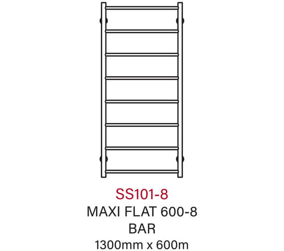 Technical drawing QS-V104202 / SS101-8E