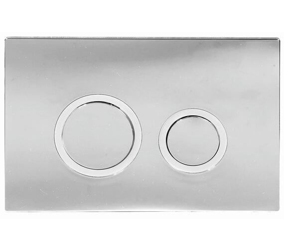 Harrison Bathrooms Slimline ABS Push Button Plate