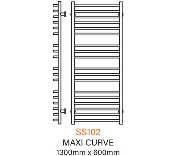 Technical drawing QS-V43793 / SS102