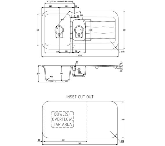 Technical drawing QS-V104066 / AW3143