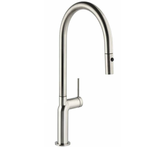 Abode Tubist Single Lever Pull Out Kitchen Mixer Tap