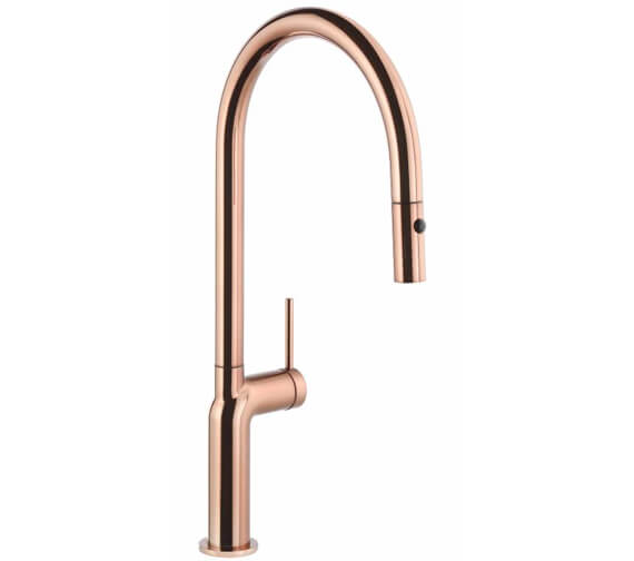 Additional image of Abode Tubist Single Lever Pull Out Kitchen Mixer Tap