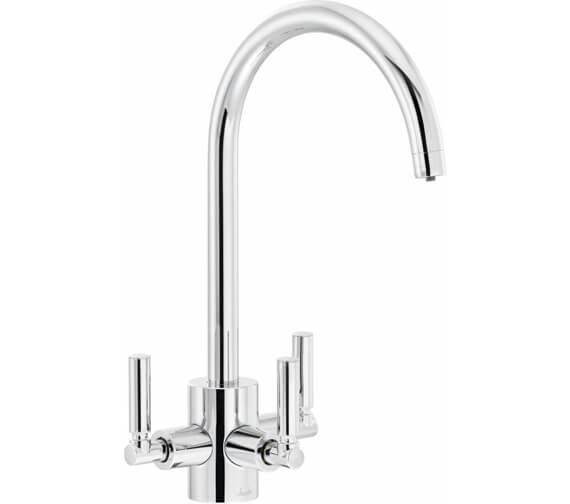 Abode Orcus Aquifier 3 Lever Kitchen Mixer Tap