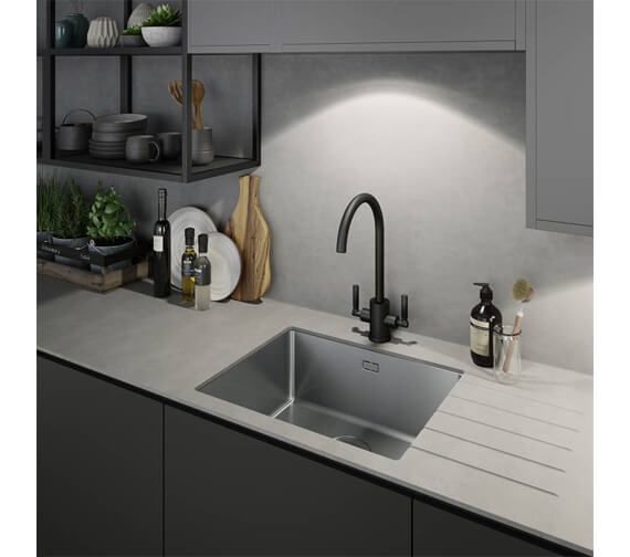 Additional image of Abode Atlas Aquifier Water Filter Monobloc Kitchen Tap