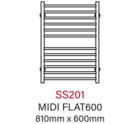 Technical drawing QS-V55977 / SS201
