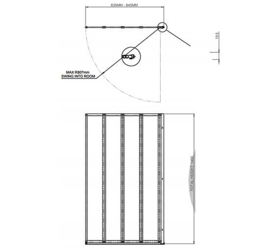 Technical drawing QS-V31218 / 1160125