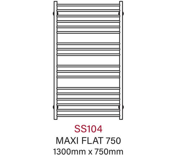 Technical drawing QS-V104206 / SS104