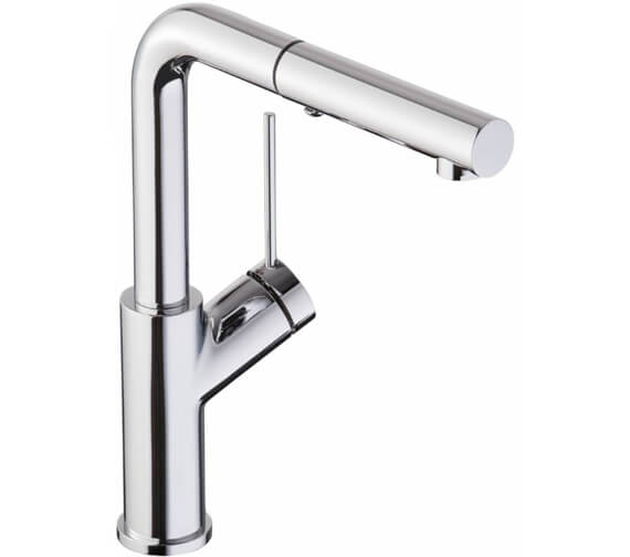 Abode Virtue Angle Pull Out Kitchen Tap