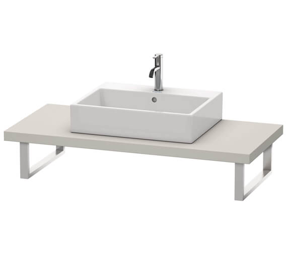 Duravit DuraStyle 550mm Depth 1 Cut Out Console For Above Counter Basin