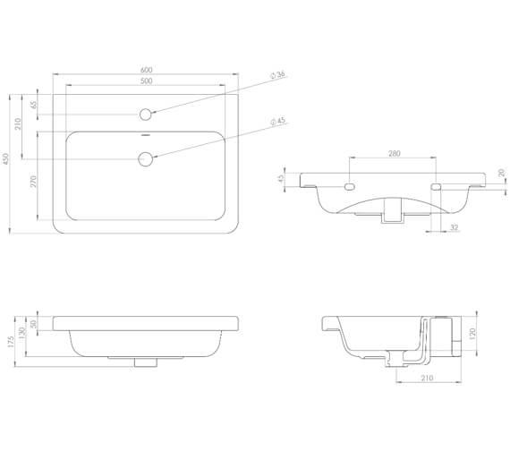 Technical drawing QS-V102299 / VOL050F.MB