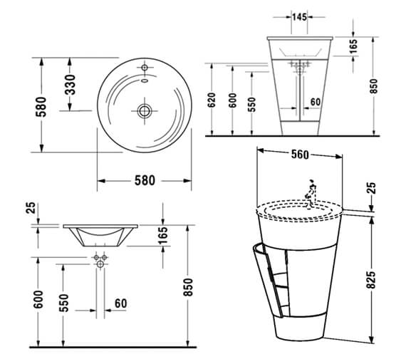 Technical drawing QS-V40958 / S1952000505