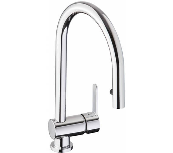 Abode Czar Single Lever Pull Out Kitchen Tap