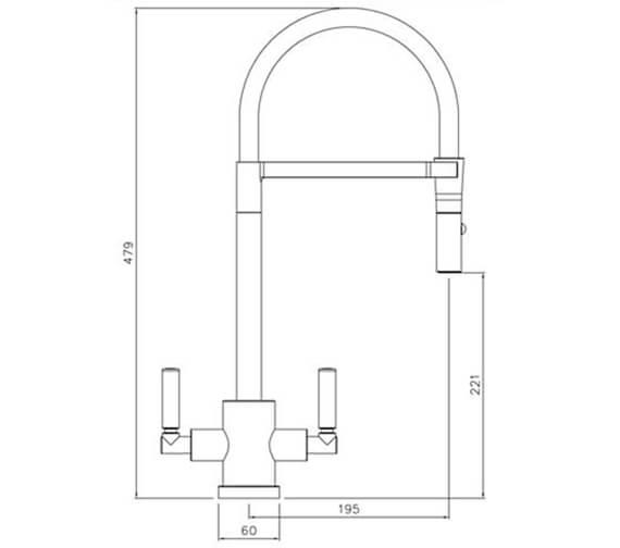 Technical drawing QS-V104213 / AT2147