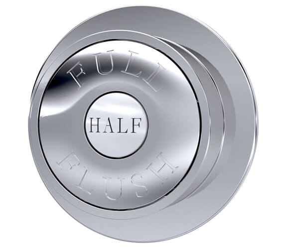 Hudson Reed Traditional Round Dual Flush Push Button