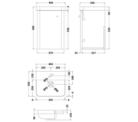 Technical drawing QS-V93976 / COR101