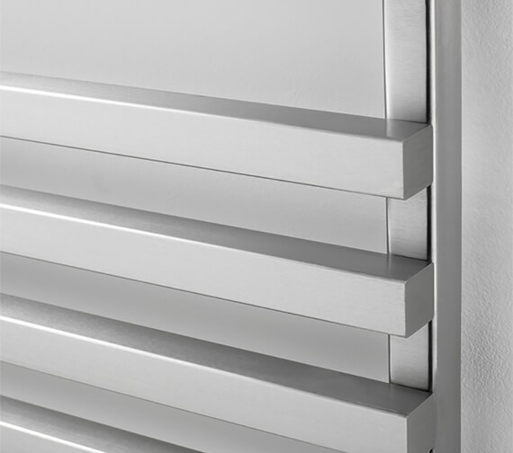 Additional image of Aeon Cengiz 500mm Wide Stainless Steel Towel Rail