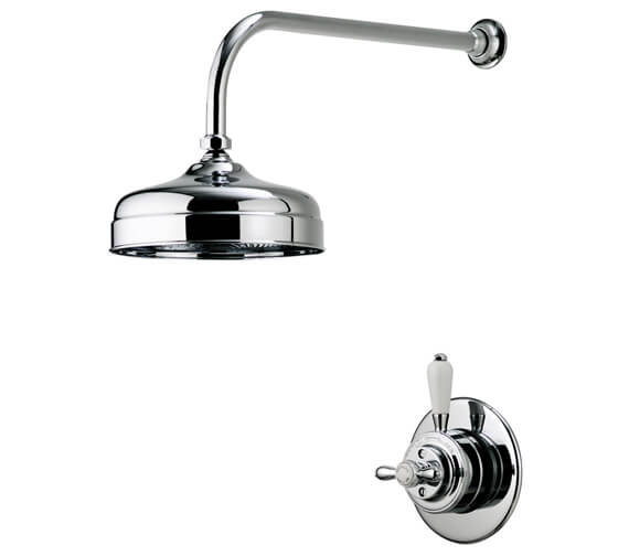 Alternate image of Aqualisa Aquatique 8 Inch Drencher Fixed Head And Wall Arm