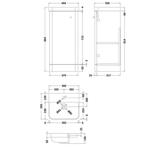 Technical drawing QS-V93977 / COR102