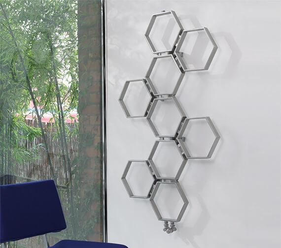 Aeon Honeycomb Stainless Steel Designer Radiator